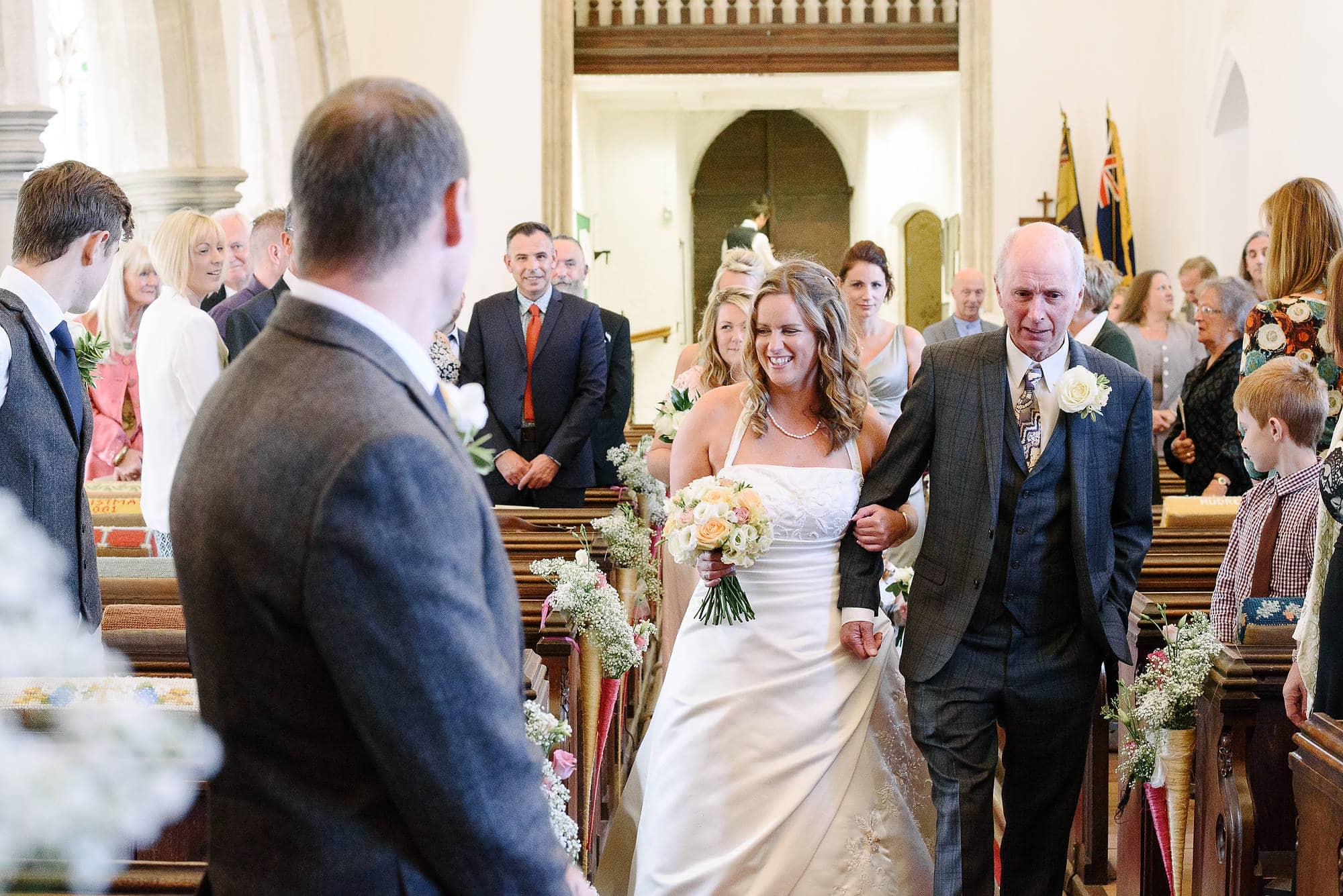 Lise & Gene's Coltishall Wedding 1