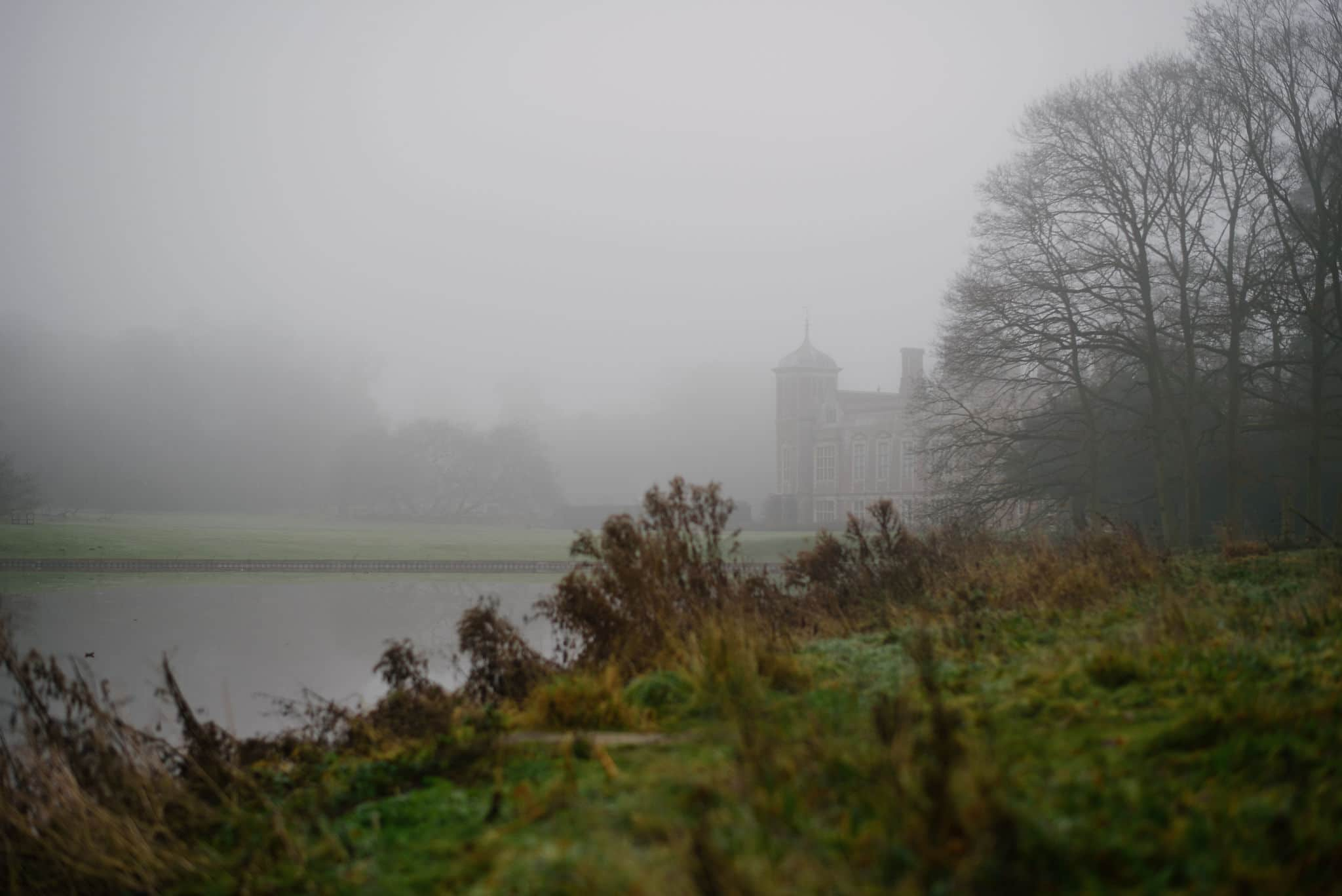 Blickling Hall in the fog 21