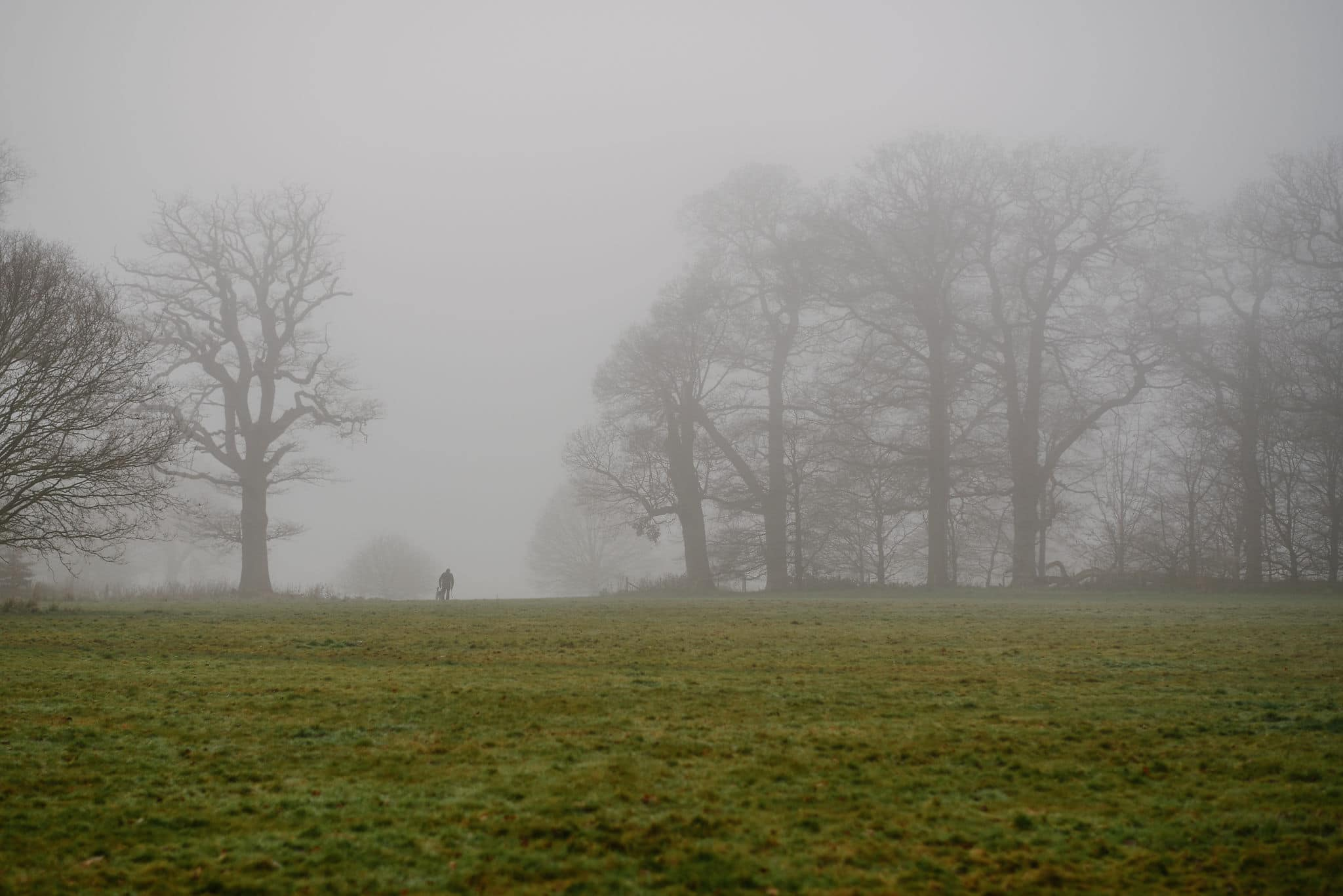 Blickling Hall in the fog 14