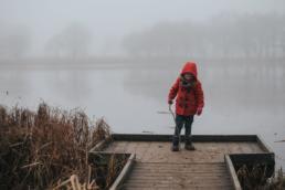 Blickling Hall in the fog 7