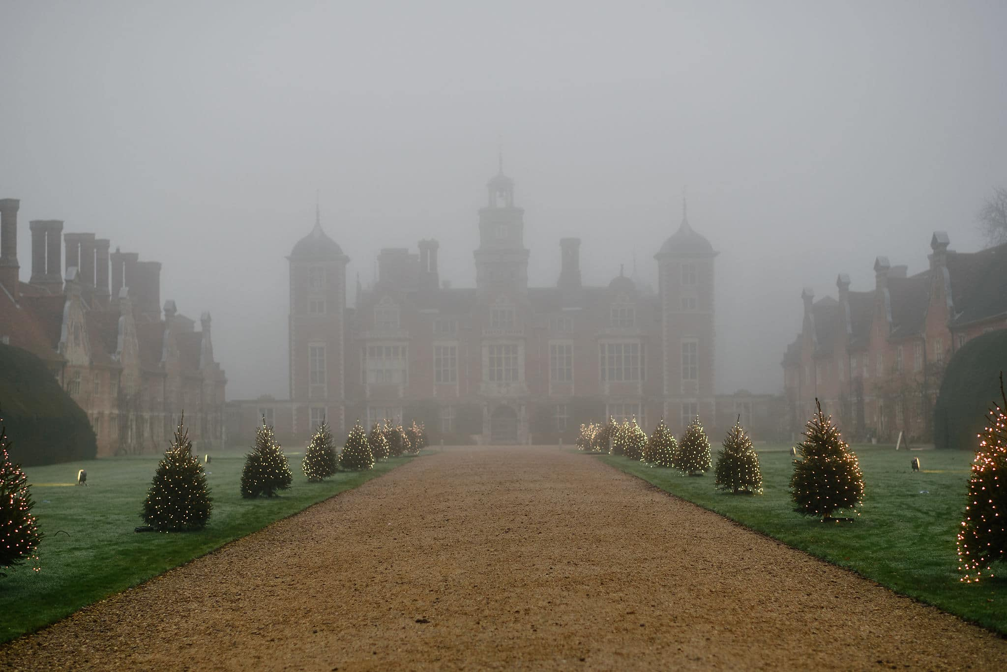 Blickling Hall in the fog 22