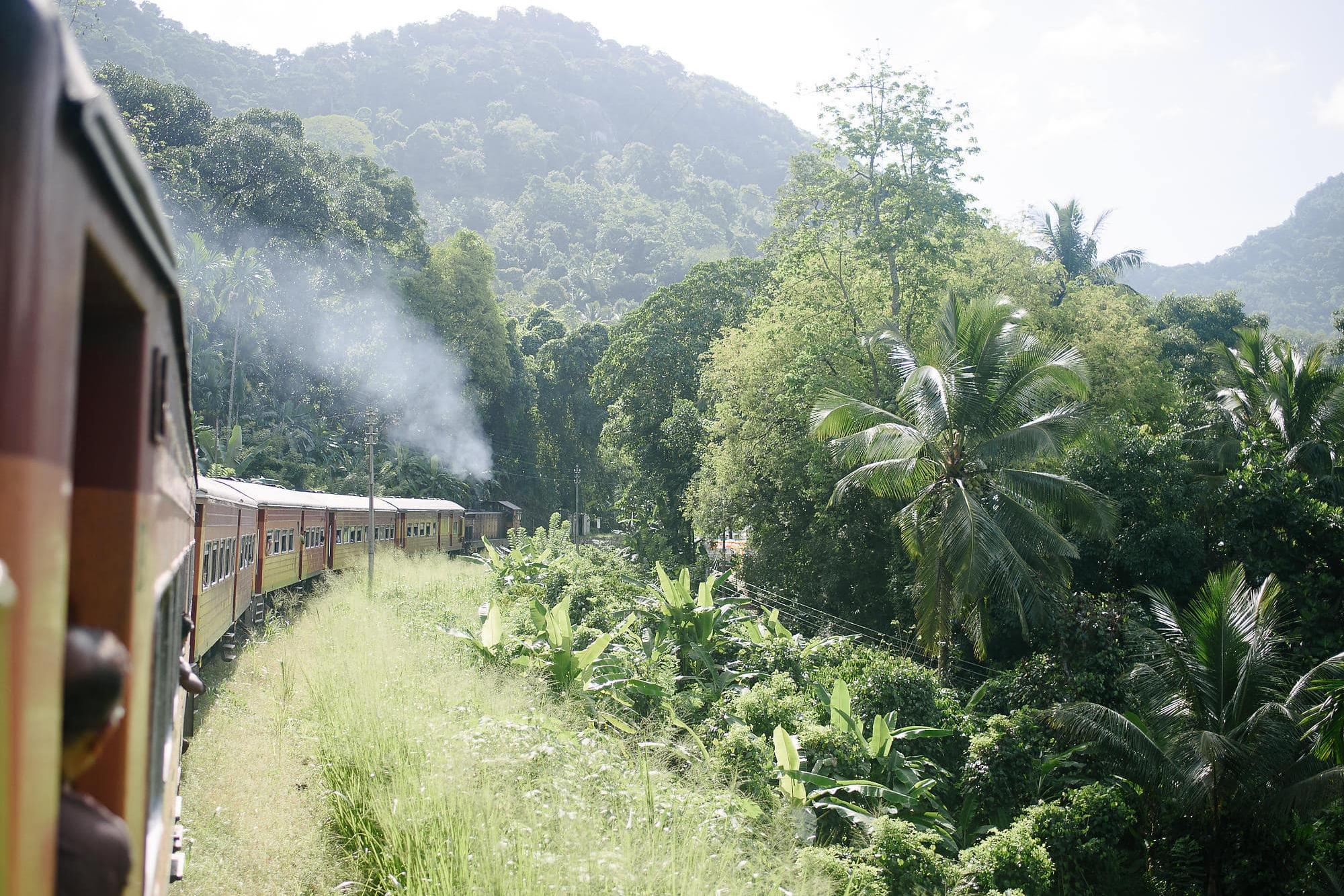 Norwich Wedding Photographer - Train journey through Sri Lanka