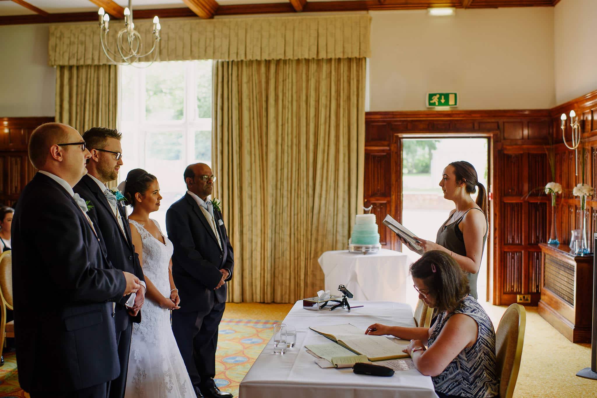 Tom & Amelia - Sprowston Manor Wedding 14