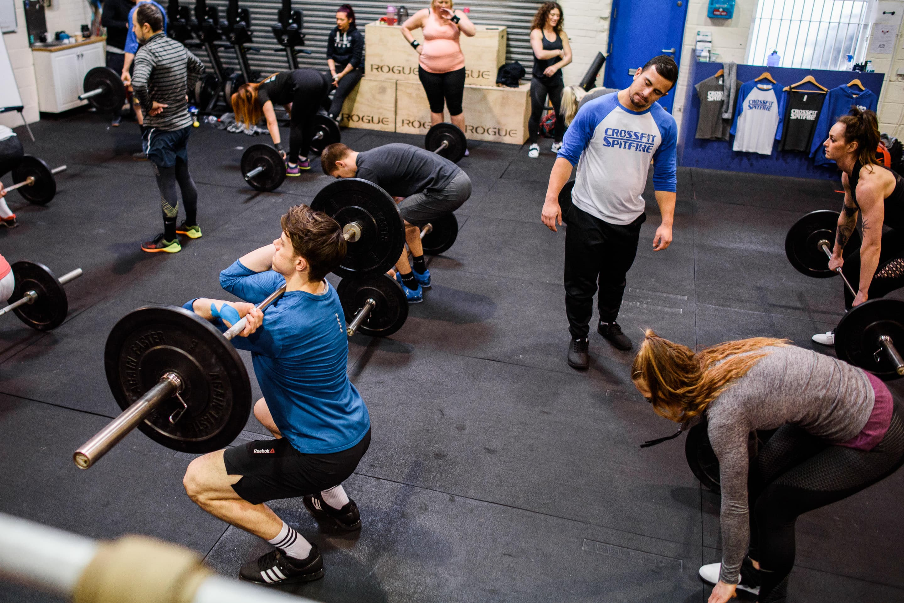 CrossFit Spitfire - Weightlifting Seminar 16