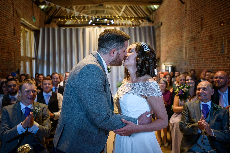 Suzanne & Sammy - Suffolk Barn Wedding 20