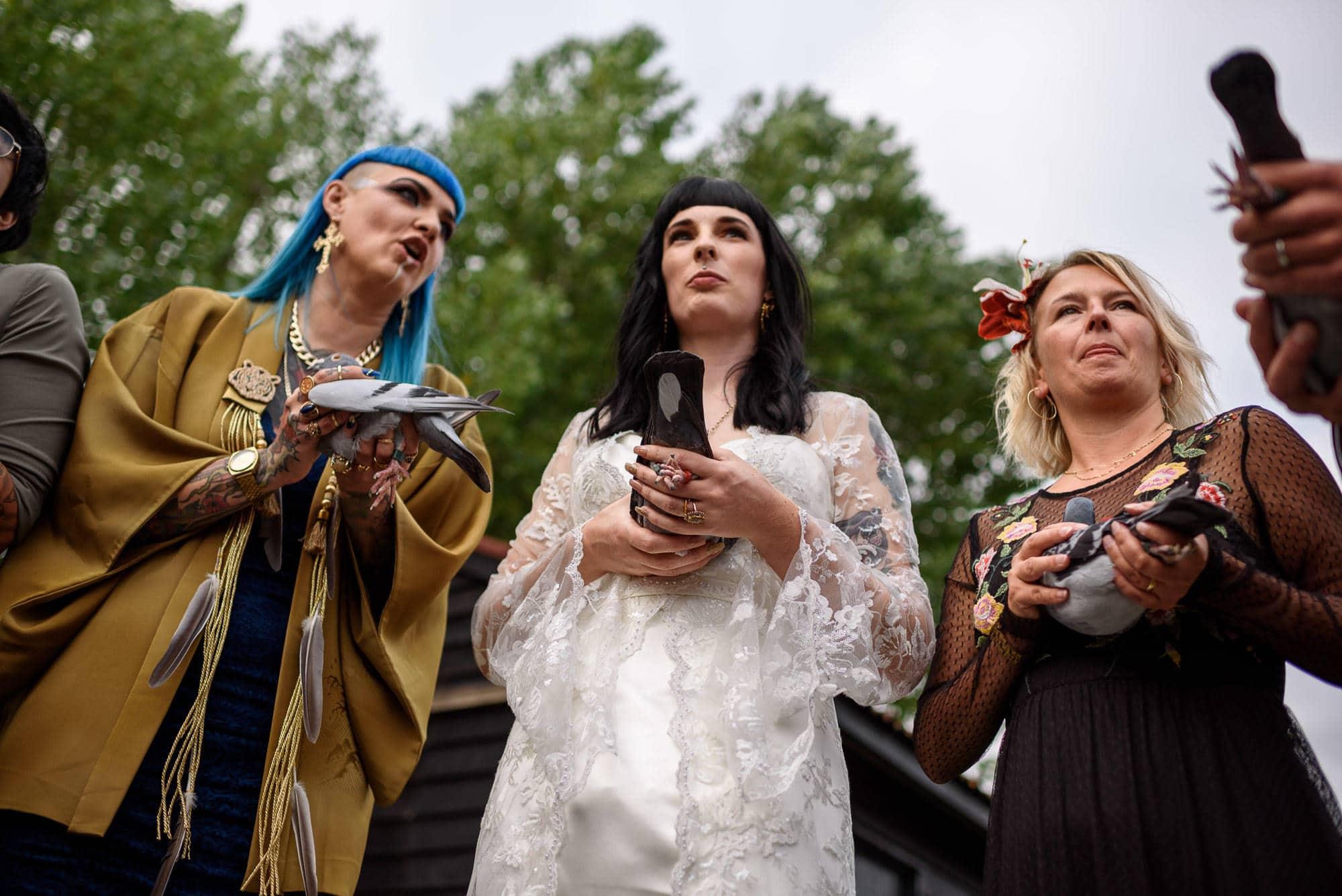 Ami & Ruth - Festival Wedding 19