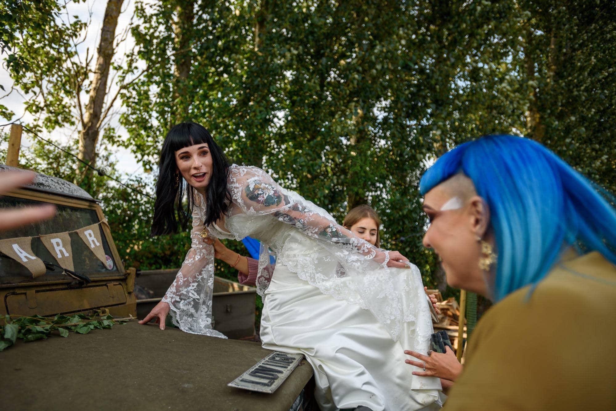Ami & Ruth - Festival Wedding 22