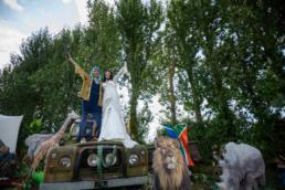 Ami & Ruth - Festival Wedding 23