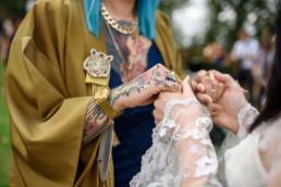 Ami & Ruth - Festival Wedding 24