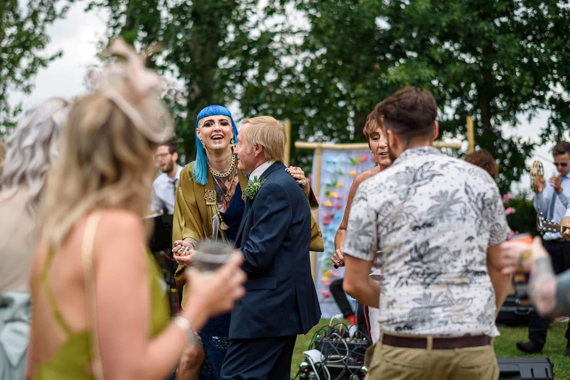 Ami & Ruth - Festival Wedding 30