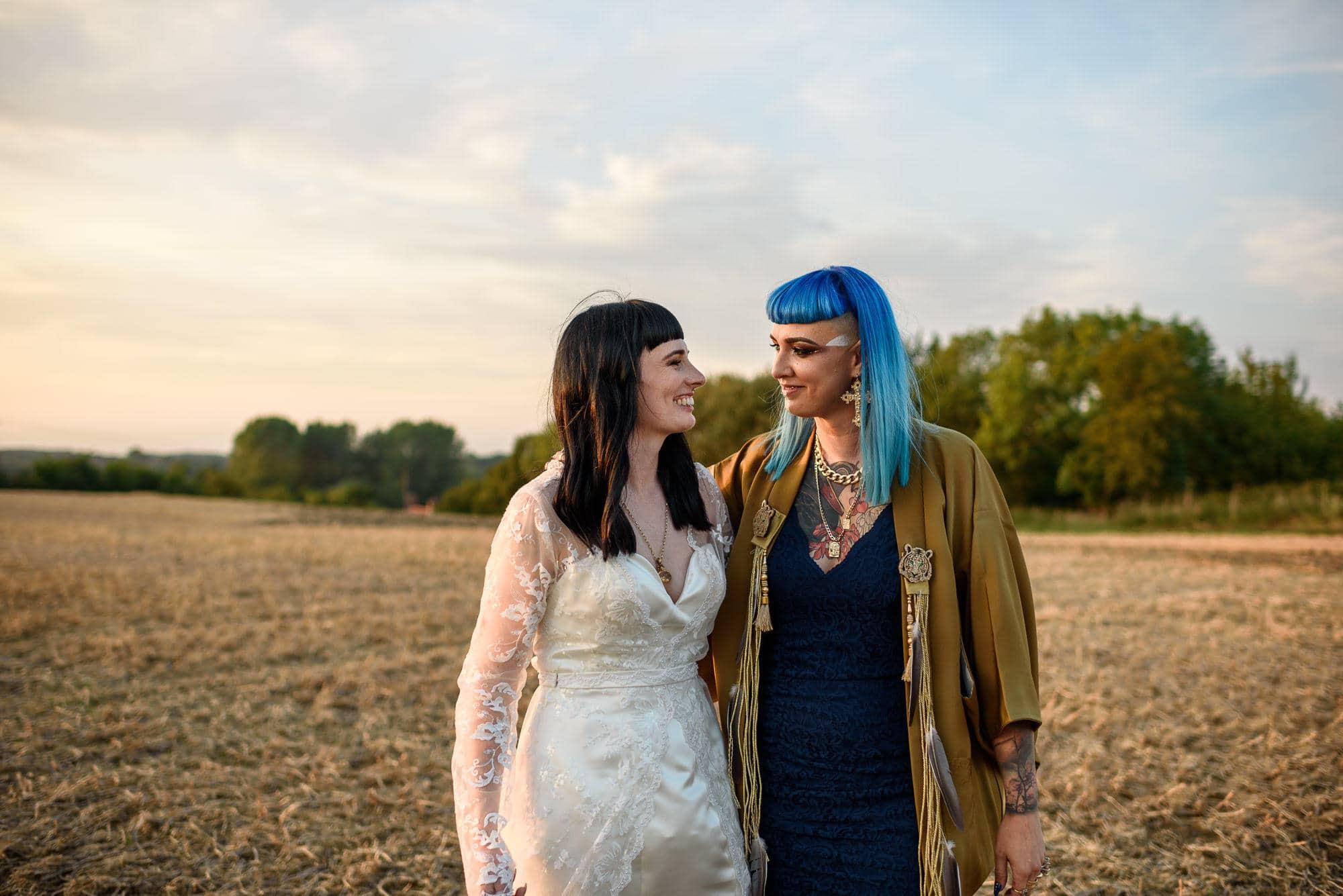 Ami & Ruth - Festival Wedding 44