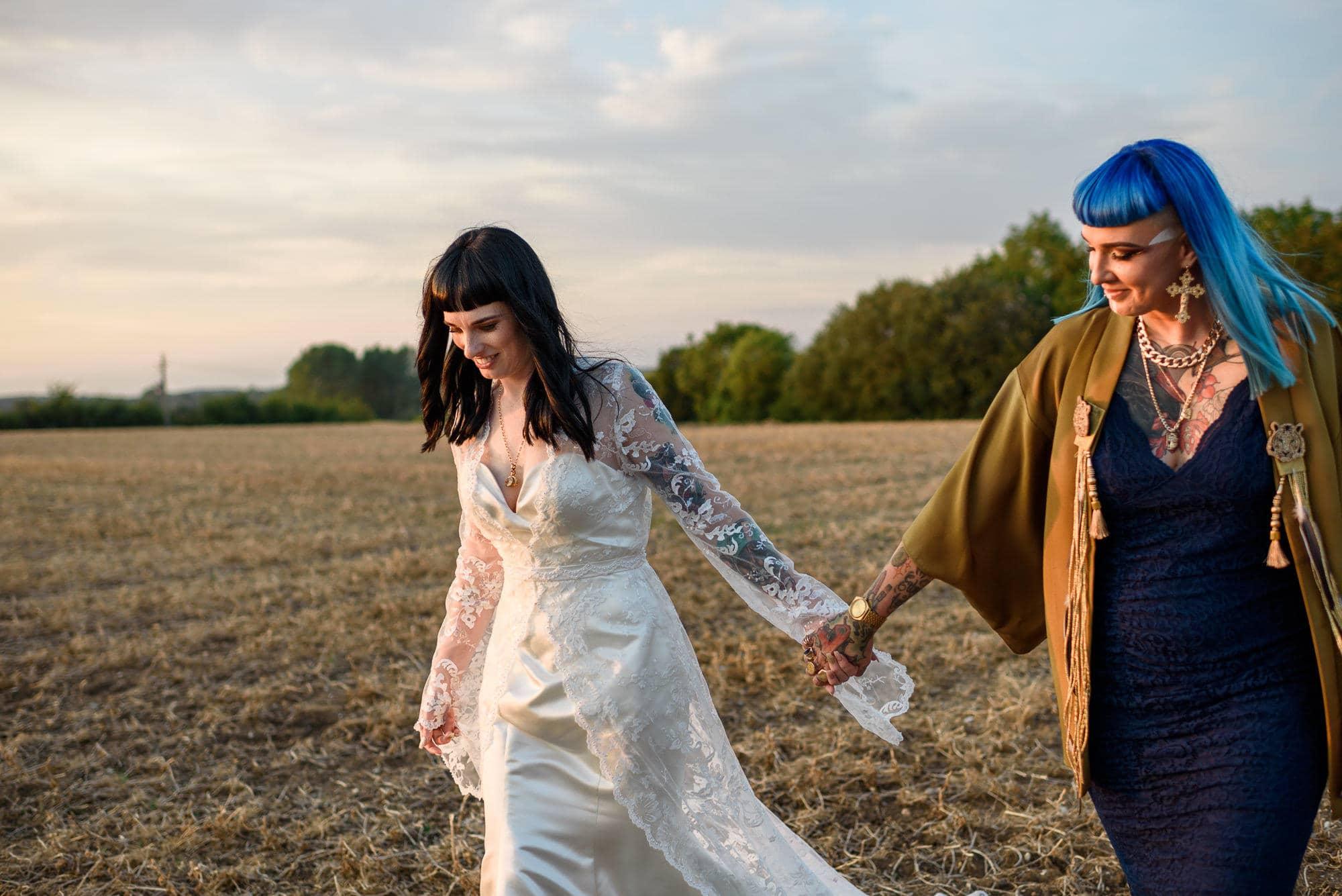 Ami & Ruth - Festival Wedding 46